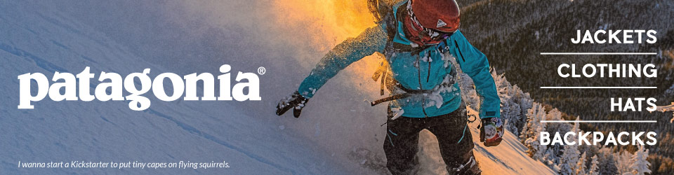 Patagonia Clothing at Moosejaw.com