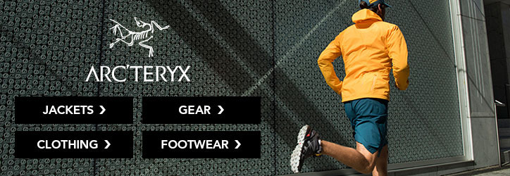 Arcteryx jackets, clothing, footwear, and gear at Moosejaw