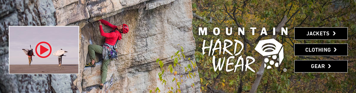 Mountain Hardwear jackets, clothing and gear at Moosejaw.com