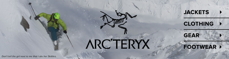 Arc'teryx Jackets, Clothing, Gear and Footwear at Moosejaw.com