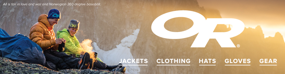 Outdoor Research Jackets, Gear, and Hats at Moosejaw