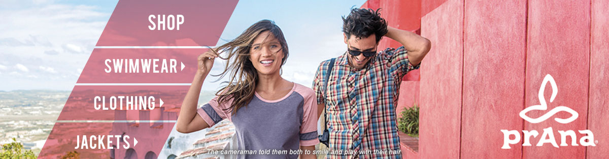 Prana Clothing at Moosejaw.com