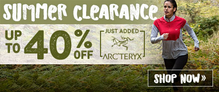 Arc'teryx Clearance - Up to 40% Off