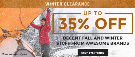 Moosejaw's Winter Clearance - Up to 35% Off