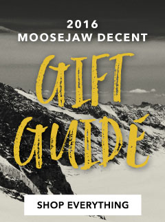The 2016 Moosejaw Decent Gift Guide.