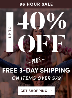 Moosejaw's 96 Hour Sale - up to 40% Off and Free 3-day Shipping