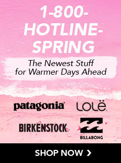 The Newest Spring Stuff for the Warmer Days Ahead