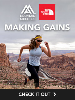 The North Face Mountain Athletics Collection. You'll Thanks Us After.