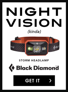 Black Diamond Storm Headlamp at Moosejaw.com