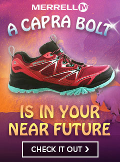 We see the Merrell Capra in your future