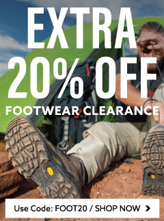 Get an Extra 20% Off Clearance Footwear