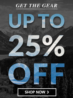 Get the Best Gear Up to 25% Off