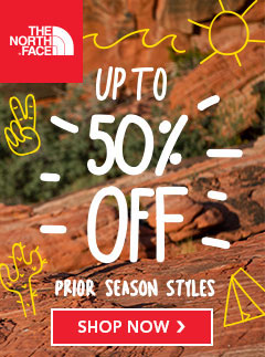 The North Face Clearance - Up to 50% Off Prior Season Styles