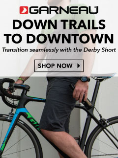 Louis Garneau goes down trails to downtown