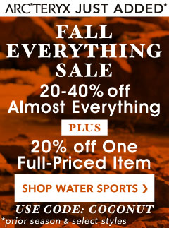 Get 20 to 40% Almost All Water Sports Gear