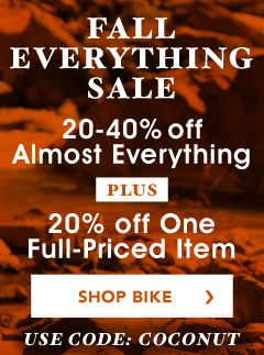 Get 20 to 40% Almost All Bike Gear