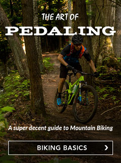 The Art of Pedaling - a decent guide to Mountain Biking