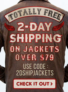 Free 2 Day Shipping on All Jackets