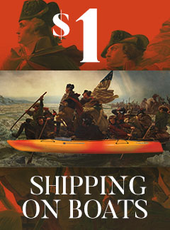 Get $1 Shipping on Boats and SUPS