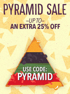 Moosejaw's Pyramid Sale - Up to an Extra 25% Off