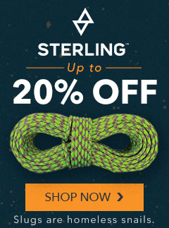 Sterling Climbing Ropes Up to 20% Off