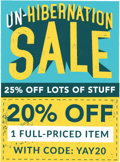 Moosejaw's Un-Hibernation Sale