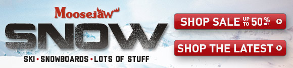 Ski and Snow on Sale at Moosejaw