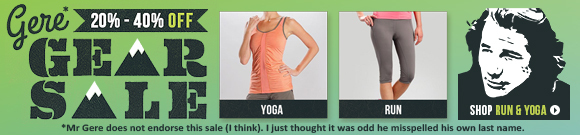 Check out Run and Yoga Clothing on Sale