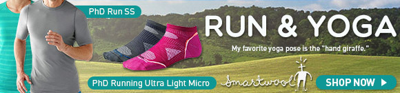Check out Smartwool Run and Yoga Clothing