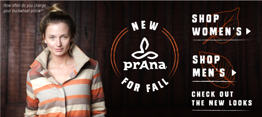 Check out new Prana clothing and outerwear