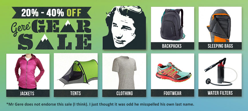 Gere Gear Sale