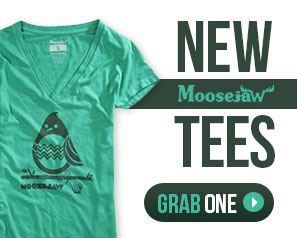 Check out the new Moosejaw tees