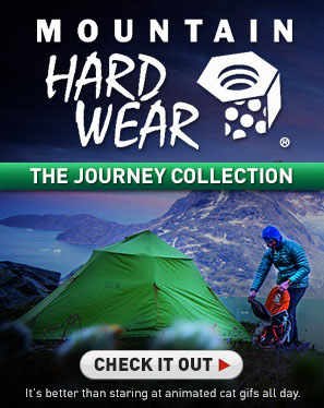 Check out Mountain Hardwear's Journey Collection