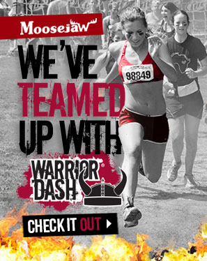 Moosejaw has teamed up with Warrior Dash