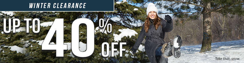 Moosejaw Winter Clearance - Up to 40% Off