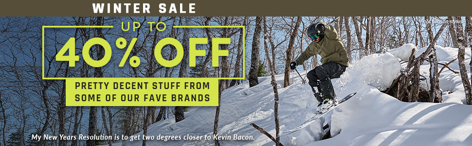 Moosejaw Winter Sale - Up to 40% Off