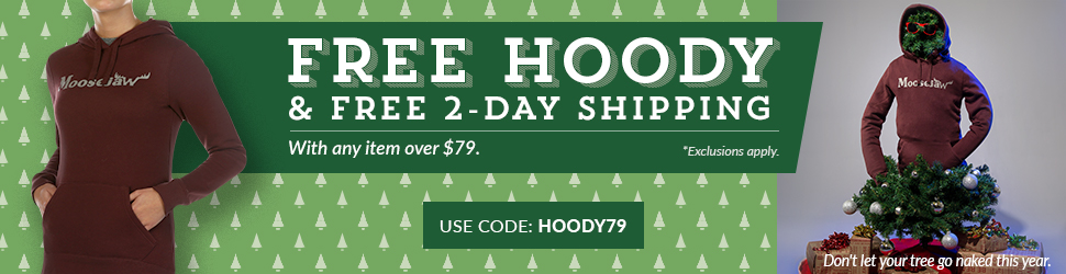 Get a Free Moosejaw Hoody with Any Item Over $79