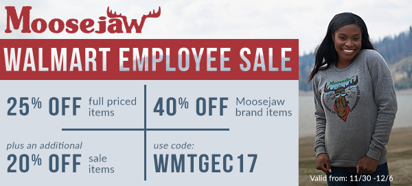 Moosejaw's Walmart Family Super Secret Sale