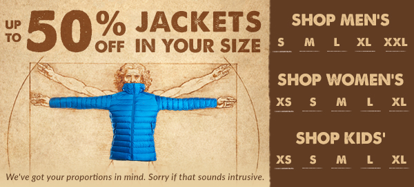 Clearance Winter Jackets in Your Size