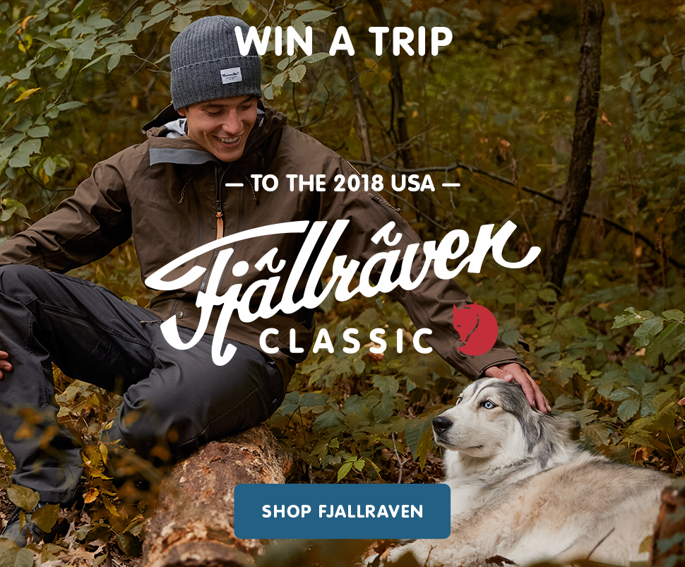 Win a Trip to the 2018 USA Fjallraven Classic