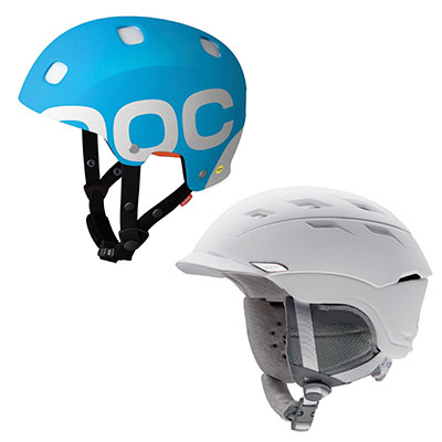 Helmets keep your head safe from things like rocks and iced snowballs.