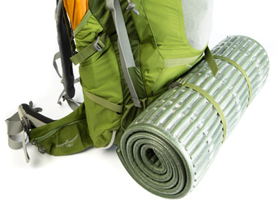 If your pack includes some sleeping pad straps, put those bad boys to use.