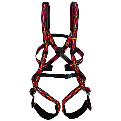 There are even harnesses for those wee ones if you want to take the kiddos climbing too.