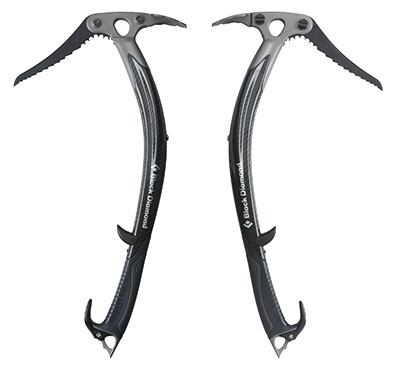 Ice axes.... possibly the coolest looking gear on the planet, and essential for your ice climbs.
