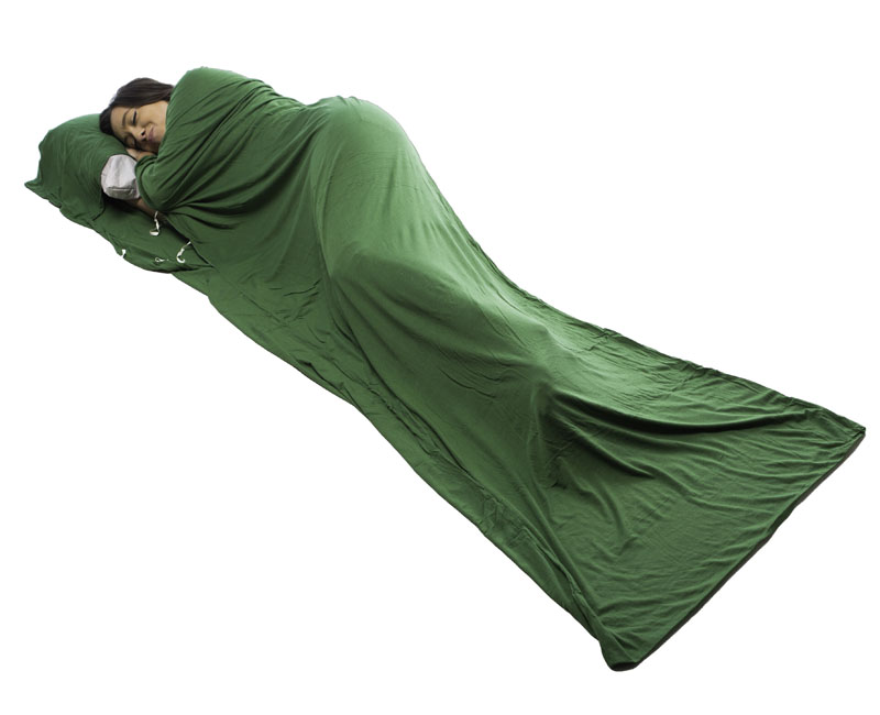 If it's too hot for a sleeping bag, go nuh-night in just a liner.