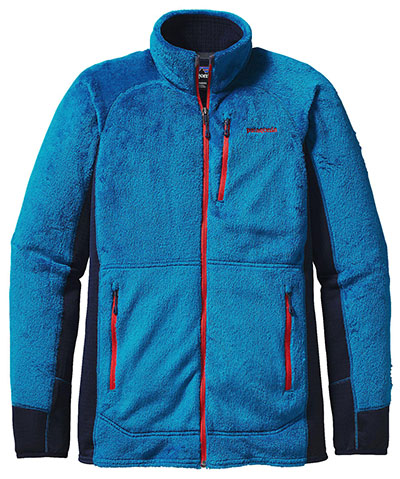 Patagonia's R2 can be used for layering in super cold temps, or worn alone if you are running or on a high output hike.
