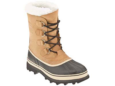 Sorel Caribou Boots can offer tons of insulation and warmth for casual hikes in colder temps.