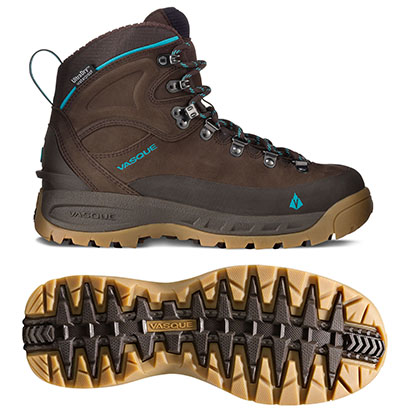 Vasque Snowblime UltraDry Boots are insulated hikers ideal for snowshoers.