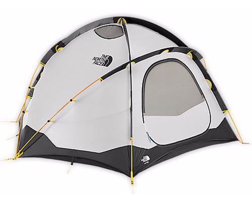 The North Face VE 25 Tent is a durable double wall tent