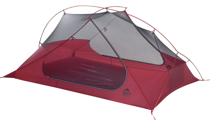 MSR Freelite Tents are single wall tents